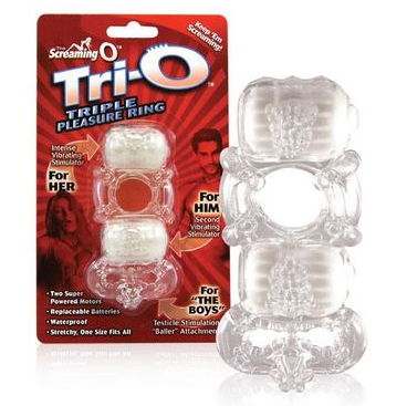 Screaming O Tri-O Triple Pleasure Ring